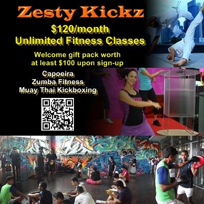 Unlimited Kickboxing, Zumba, Capoeira